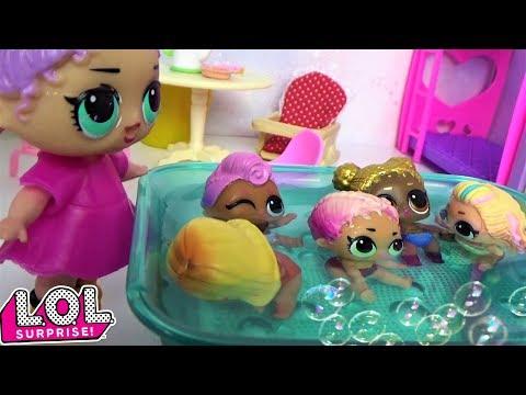 Куклы Лол Сюрприз! Мультик Lol Surprise Dolls Видео для детей Сборник смешных серий
