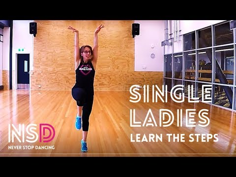 SINGLE LADIES DANCE FIT - LEARN THE STEPS