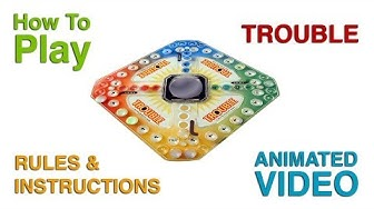 Trouble Board Game Rules & Instructions | Is Trouble like Ludo? Learn How To Play Trouble The Game