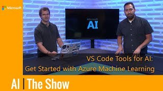 Get Started with Azure Machine Learning with Visual Studio Code Tools