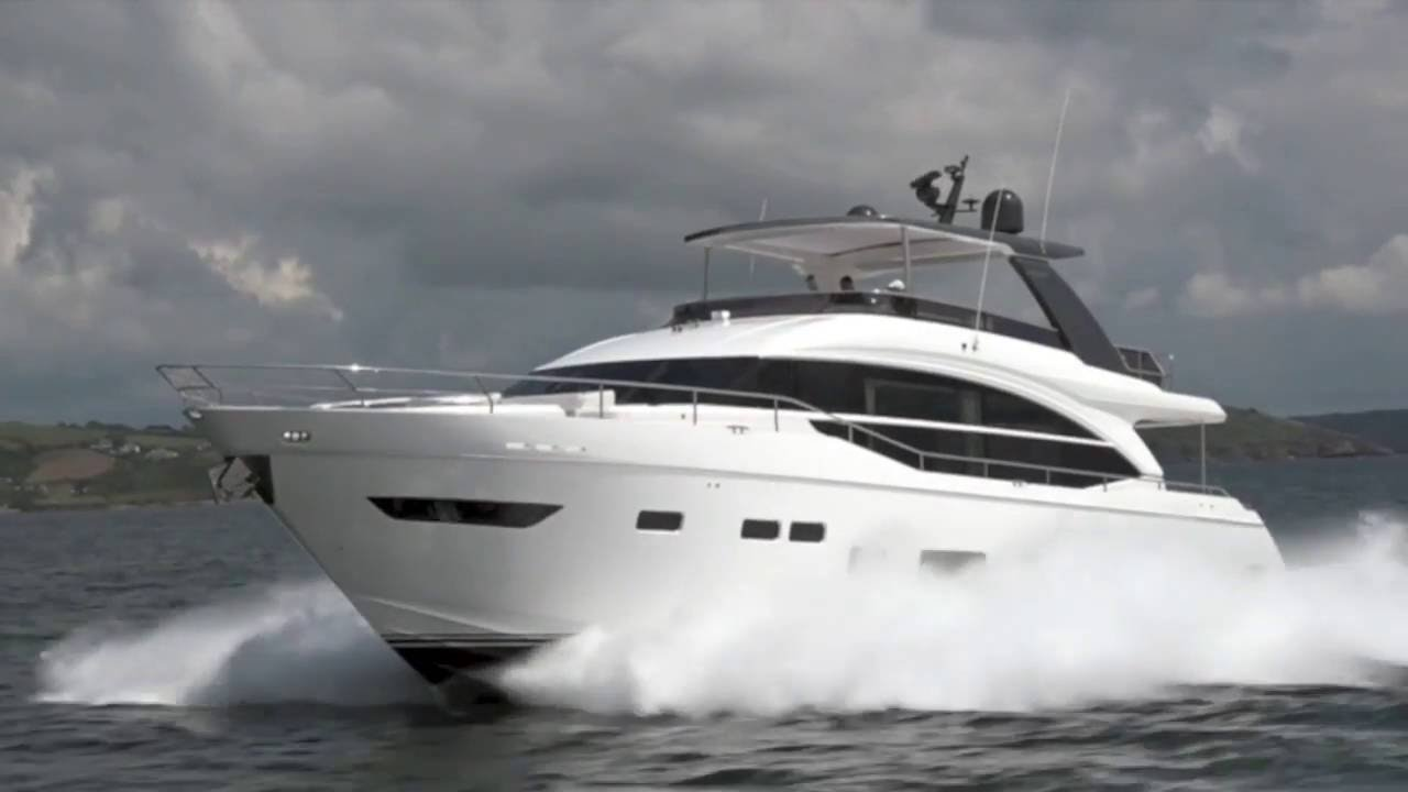 Princess 75 motor yacht review motor boat yachting for Princess 75 motor yacht