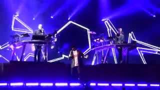 Disclosure ft. Gregory Porter - Holding On (new song) - Wild Life Festival - 07.06.15