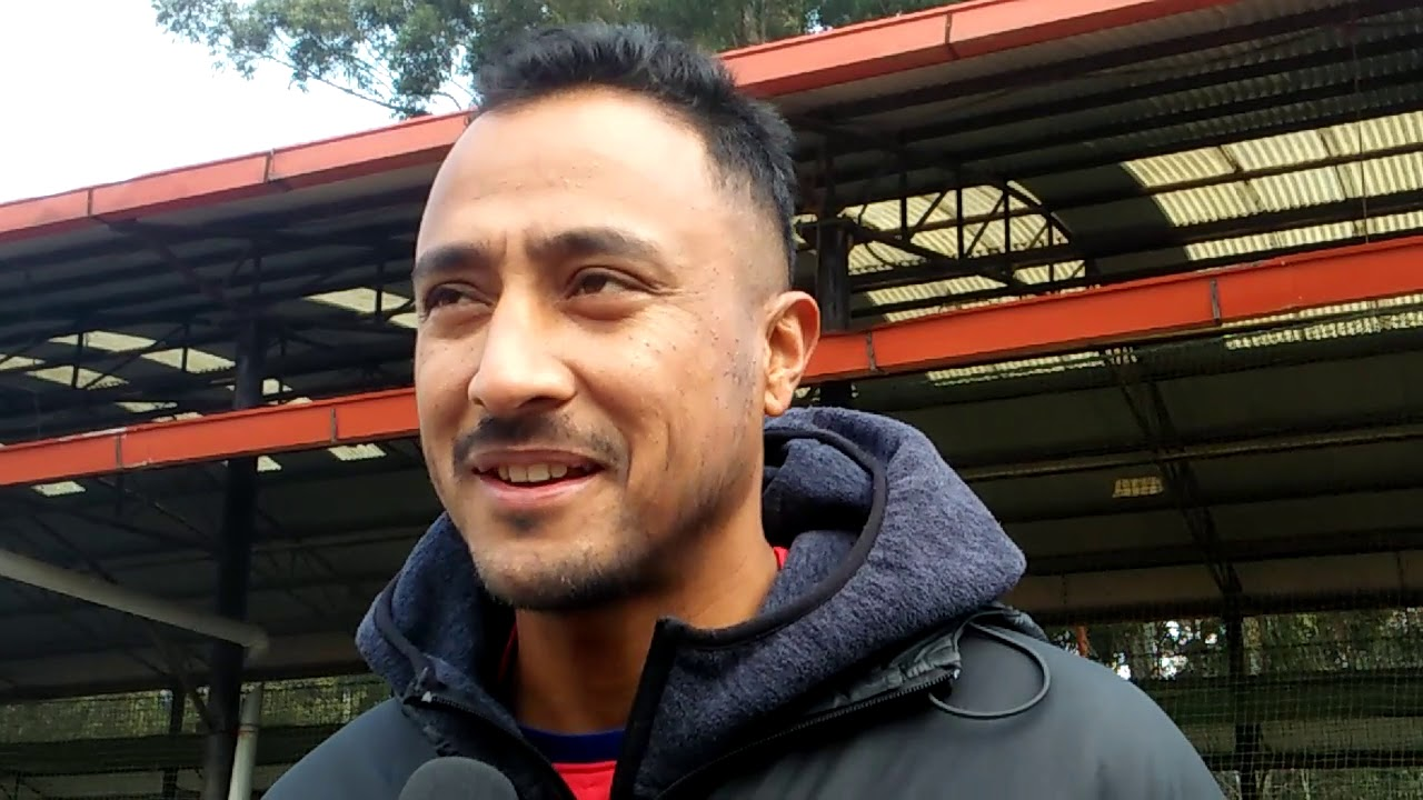 Paras Khadka  - नेपाली टोलीको जिम महत्वपूर्ण - former captain of the Nepalese cricket team.