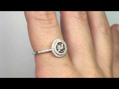 2ea8e42b Anillo de Compromiso Nicols DIAMOND CLASSIC 14710291011 - YouTube