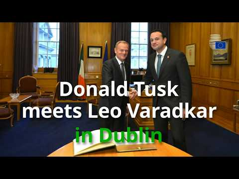Donald Tusk meets the Taoiseach of Ireland - Highlights
