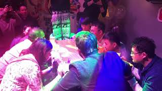Chinese game show | drinking challenge