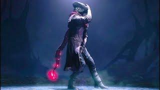 Devil May Cry 5 Dante Funny Scene (Moonwalk Dance & Bruce Lee Nunchucks)
