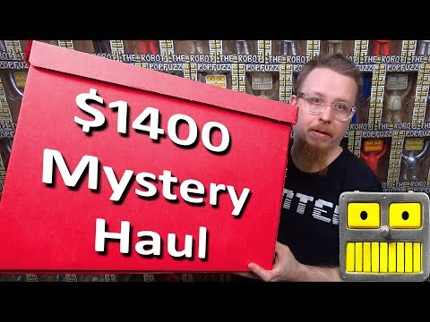 Funko Pop Mega Epic $1400 Mystery Box Haul Vaulted Exclusives Collection Of Funko Pops Pt 1