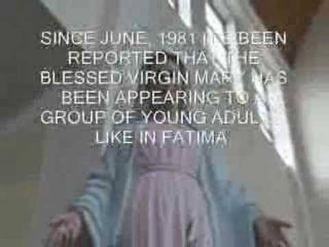 blessed Appearance virgin mary of