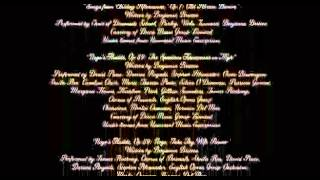 Moonrise Kingdom 2012  End Credits, Orchestra