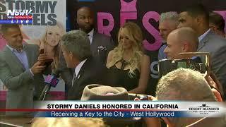 STORMY DANIELS DAY: Proclaimed by mayor of West Hollywood, CA (FNN)
