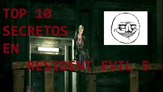 Top 10 Secretos En Resident Evil 5