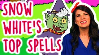 Snow White's Favorite Magic Spells & Snow White Full Story | Story Time with Ms. Booksy