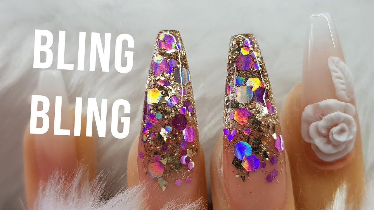 acrylic nails baby boomer french