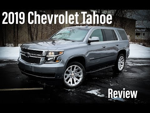 NEW 2019 Chevrolet Tahoe LT: Review and Walkaround