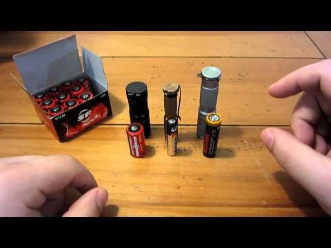 CR123 Lithium Battery Information...