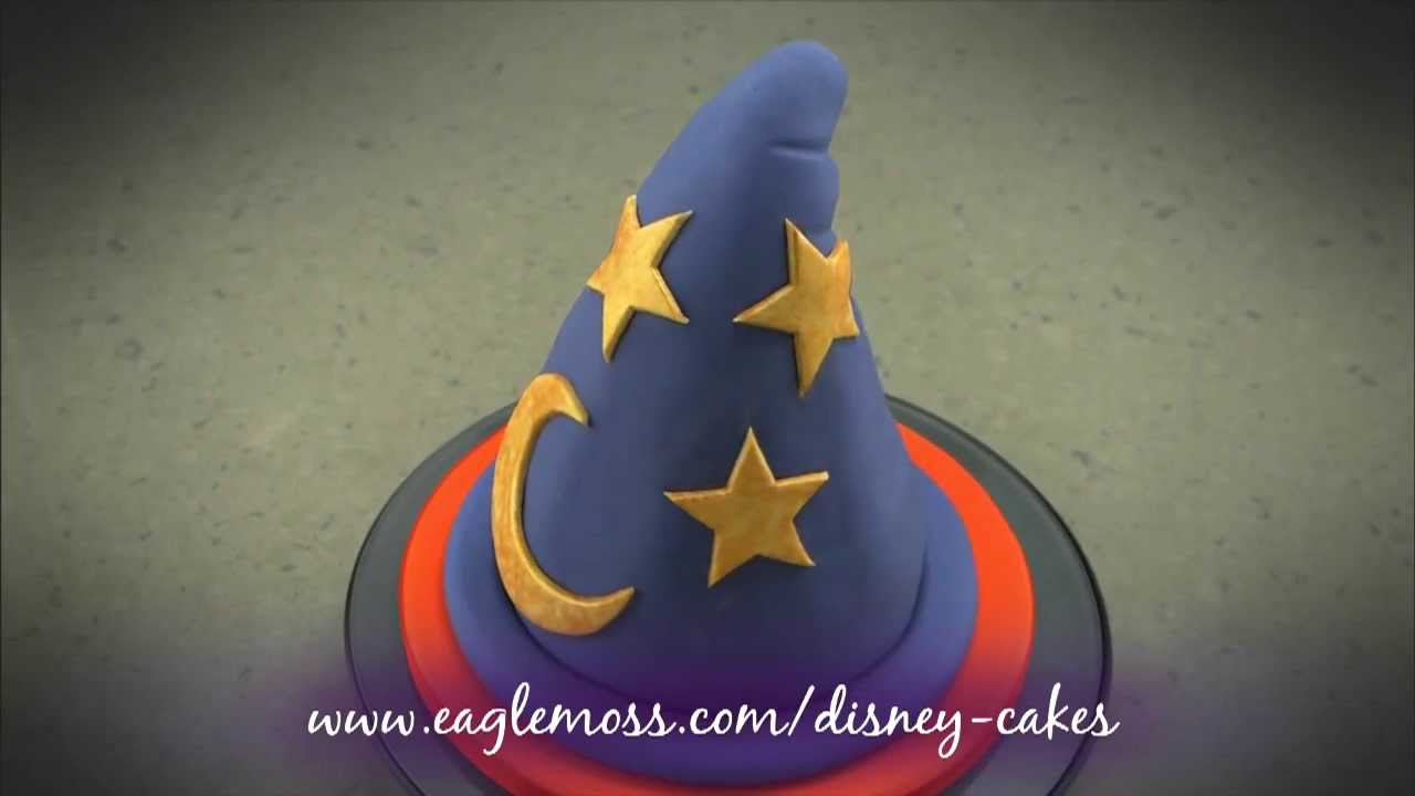 Disney Cakes Sweets Witches hat cake YouTube