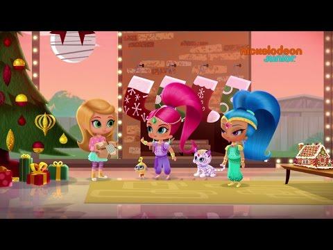 Lettre Pere Noel Disney.Shimmer Shine La Lettre Au Pere Noel Nickelodeon