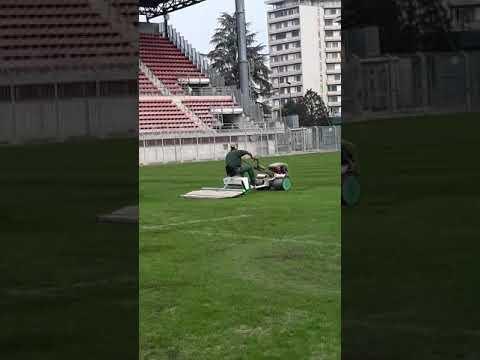 Capo   cantiere Bruno        allo stadio