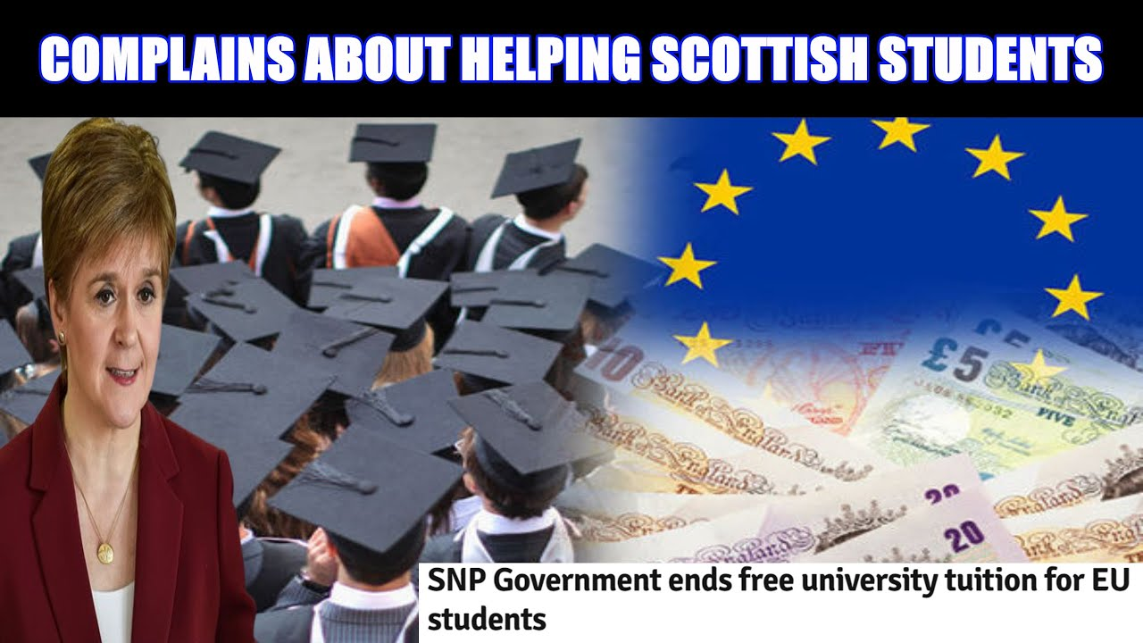 Brexit Helps Scottish Students, The SNP Complains About EU Students Missing Out