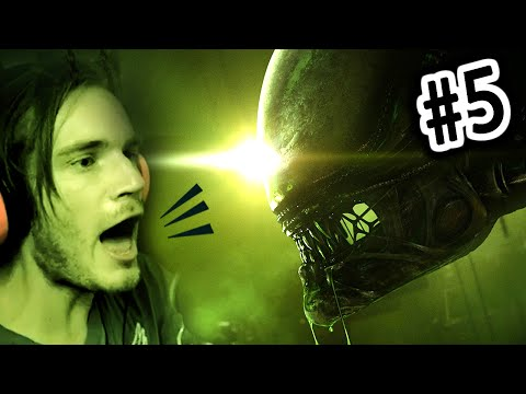 FIRST ALIEN ENCOUNTER! - Alien Isolation - Gameplay Walkthrough - Part 5