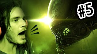 FIRST ALIEN ENCOUNTER! - Alien Isolation - Gameplay Walkthrough - Part 5