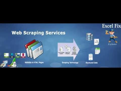 Web Scraping, Data mining and Data Analysis