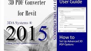 How to Set Up Advanced 3D PDF Settings