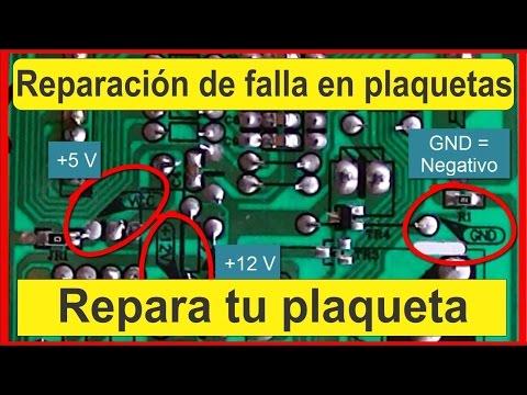 Tecnicas para reparacion de tarjetas electronicas - Reparacion de placas electronicas ...