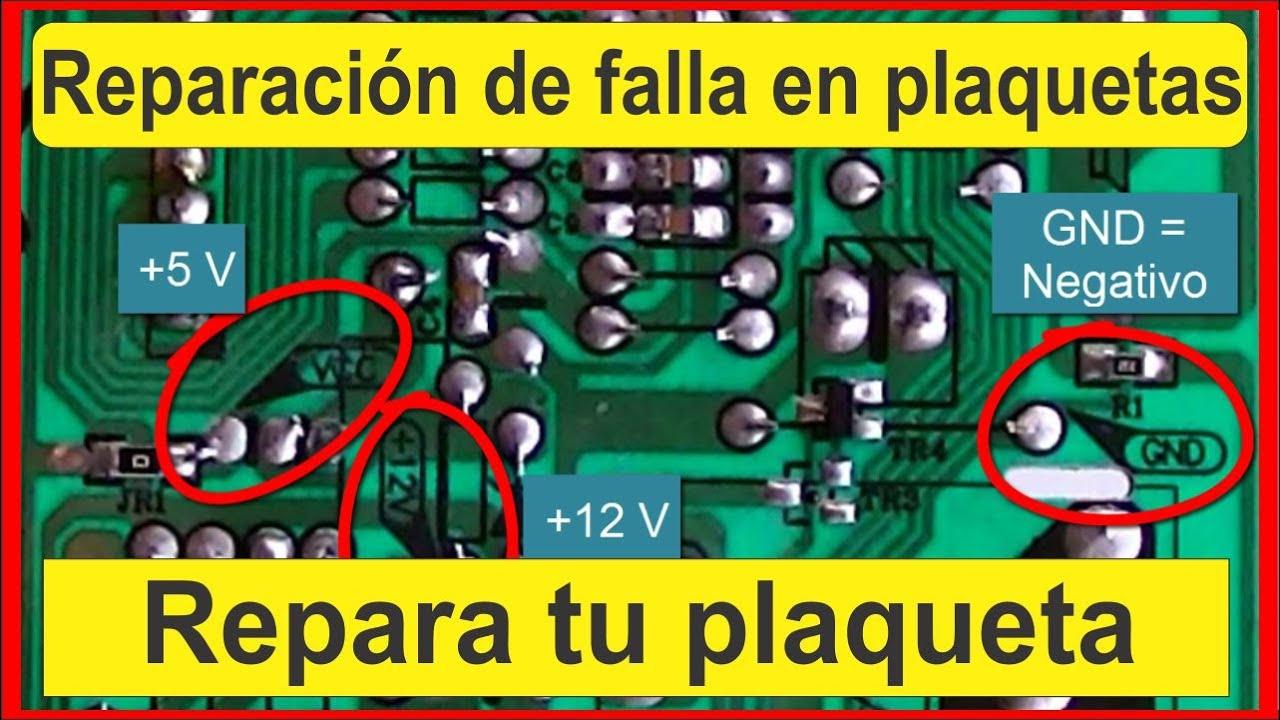 Reparacion de plaqueta de microondas micro ondas placa - Reparacion de placas electronicas ...