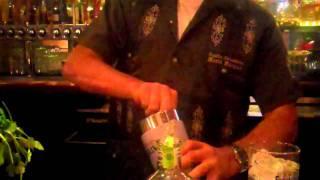 Mario Mixes Up A Cilantro Mojito For Tequila Thursday