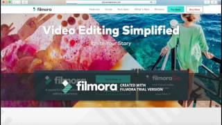 How to download Wondershare Filmora on your Mac