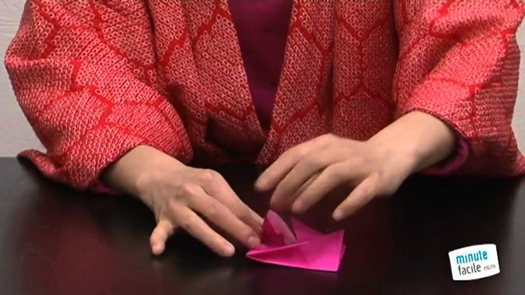 Origami Comment Faire Une Rose Youtube