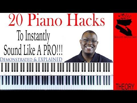 this is gospel piano tutorial