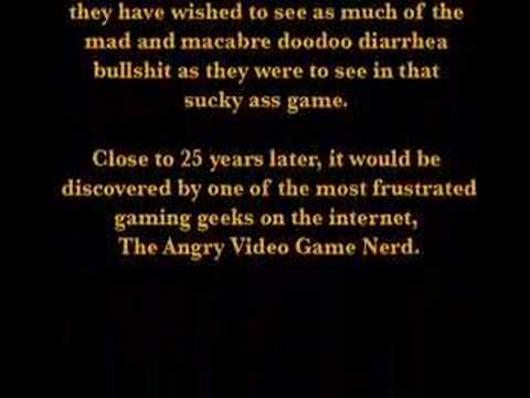 """TRAILER - """"Texas Chainsaw Massacre"""" - Angry Video Game Nerd"""