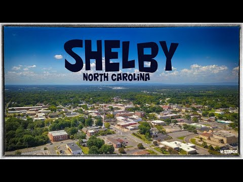 Shelby, NC  Downtown- 4K  (DJI Mavic Pro Footage) Home Of The American Legion World Series