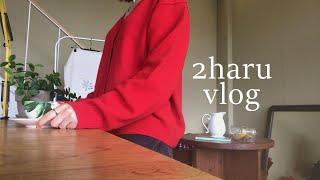 [브이로그/vlog] 블로그마켓 사장의 일상 (feat…
