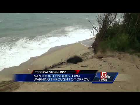 Slow-moving storm may increase beach erosion