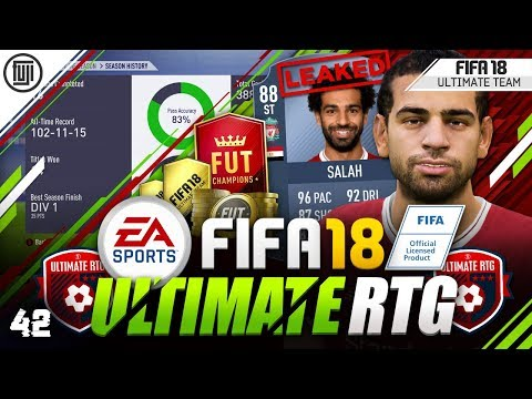 POTM ST SALAH LEAKED!!! FIFA 18 ULTIMATE ROAD TO GLORY! #42