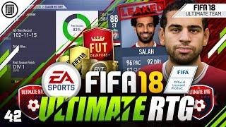 POTM ST SALAH LEAKED!!! FIFA 18 ULTIMATE ROAD TO GLORY! #42 - #FIFA18 Ultimate Team
