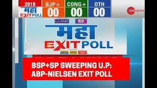 Maha Exit Poll 2019: Mahagathbandhan sweeping Uttar Pradesh, ABP News-Nielsen Exit Poll predicts