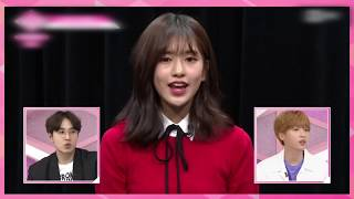 Ahn Yujin singing Call Me Maybe Little Mix s Wings perf Starship Trainees PRODUCE48
