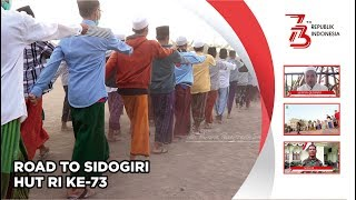 HUT RI 73 - Road to Upacara Pengibaran Bendera Part #2   Pondok Pesantren Sidogiri