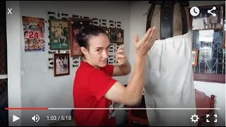 Sylvie's Tips - Muay Thai Bagwork for Clinch | Play Knees and Improvisation