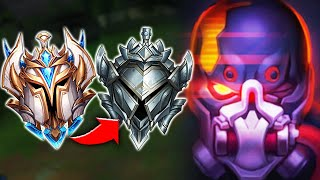 When the rank 1 pyke goes try-hard in silver elo and they stand no chance