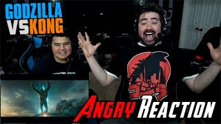 Godzilla Vs Kong - Angry Trailer Reaction!