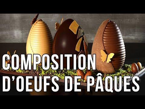 Composition d'Oeufs de Pâques par Sandrine Baumann Hautin