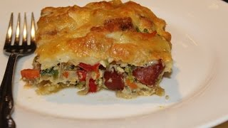 Sausage, Vegetable And Bread Bake (quick And Easy Meals)