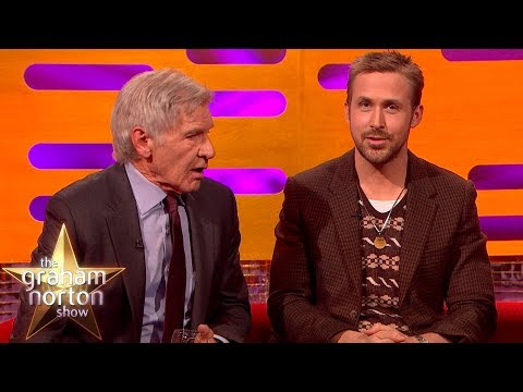 Harrison Ford Really Can't Remember Ryan Gosling's Name  The Graham Norton