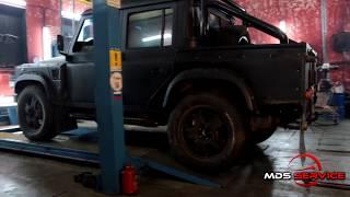 Ремонт рульового редуктора Land Rover Defender